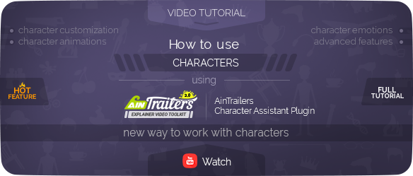 AinTrailers | Explainer Video Toolkit with Character Animation Builder - 89