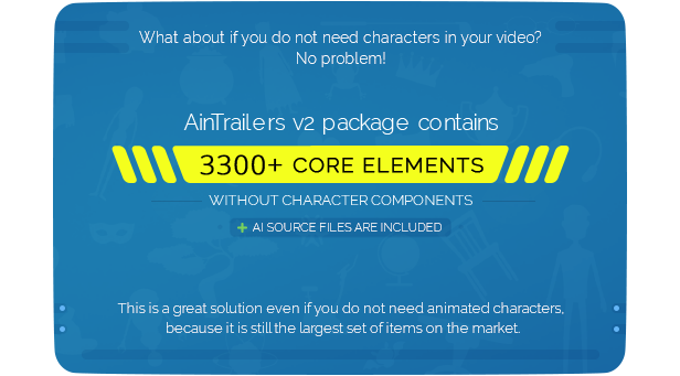 AinTrailers | Explainer Video Toolkit with Character Animation Builder - 58